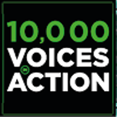 About Us 10000 Voices in Action Icon