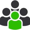 Meet the Team 10000 Voices Icon