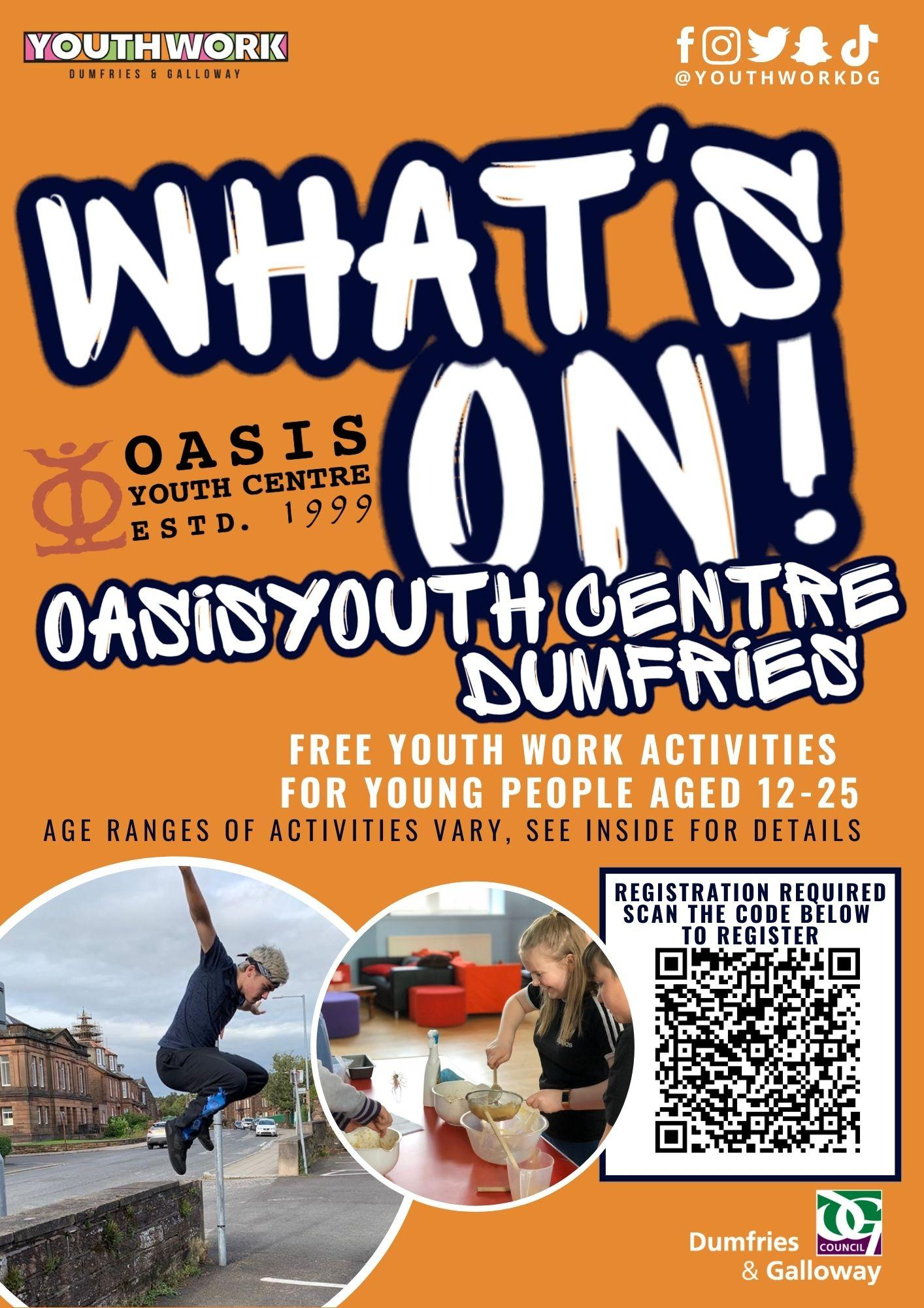 whats on oasis 1